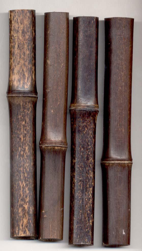 Black Bamboo Poles ~ Quot